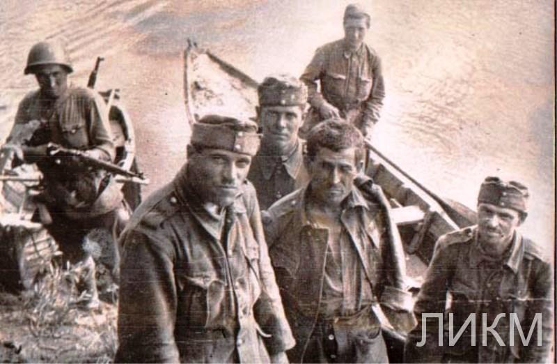 Первые пленные немцы, с. Щучье
