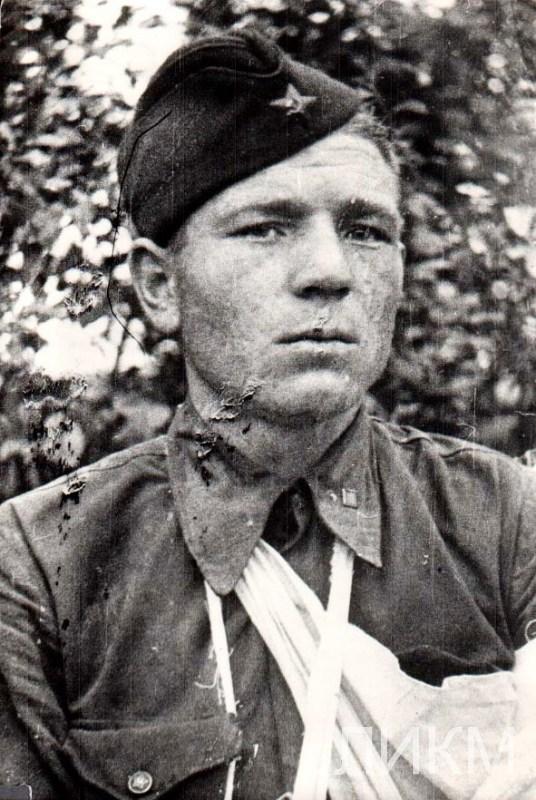 Разведчик Раковский В.Д.