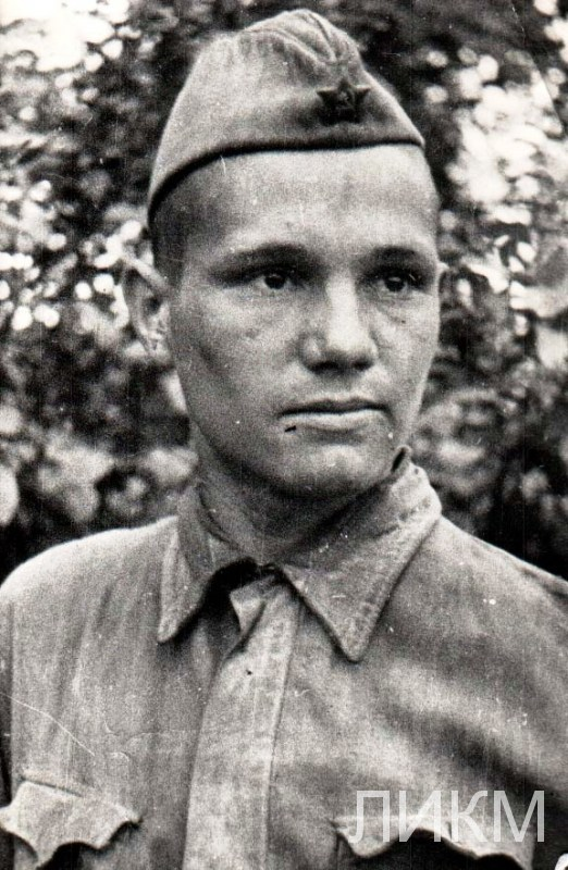 Сержант Крюков И.П.