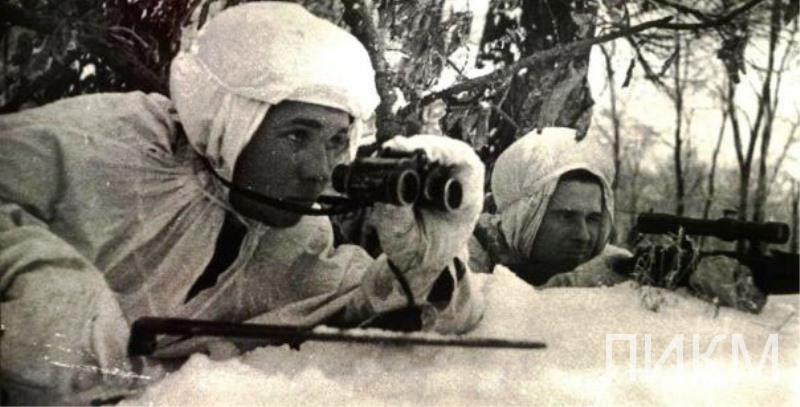 Снайперы дивизии 7