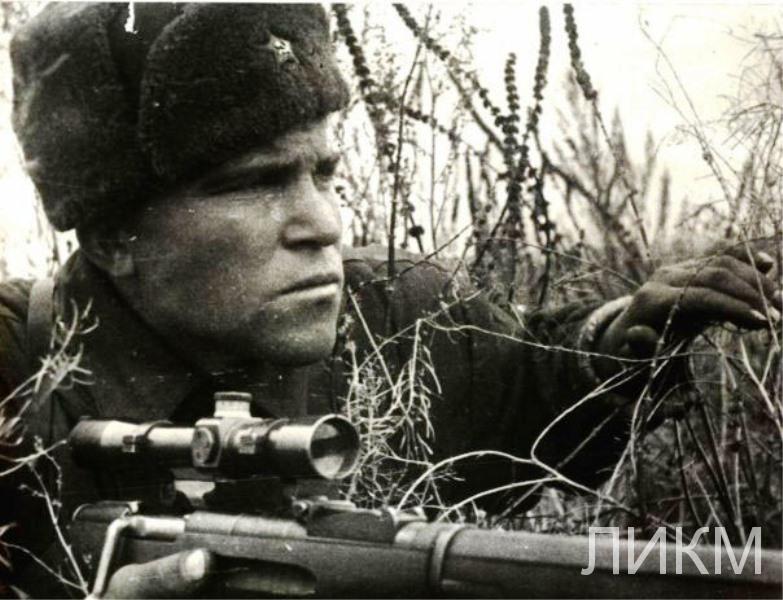 Снайперы дивизии 8