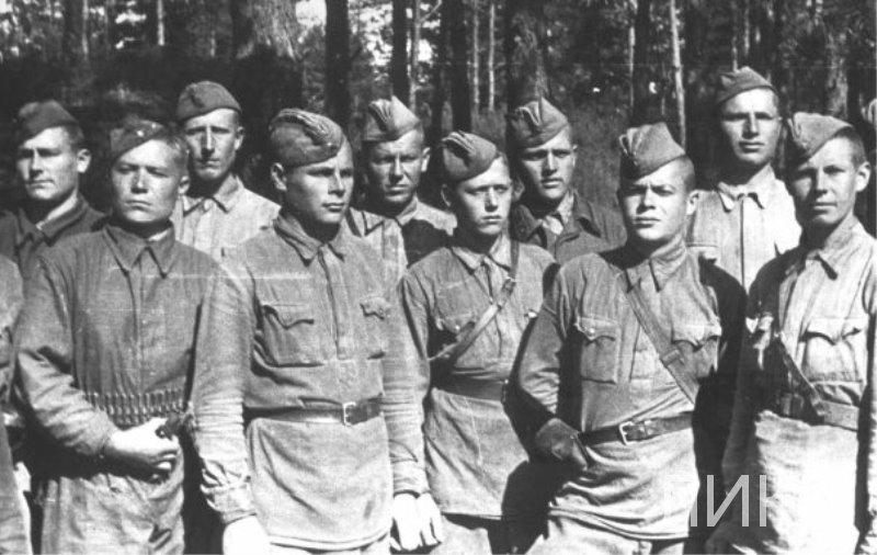 Снайперы дивизии 9