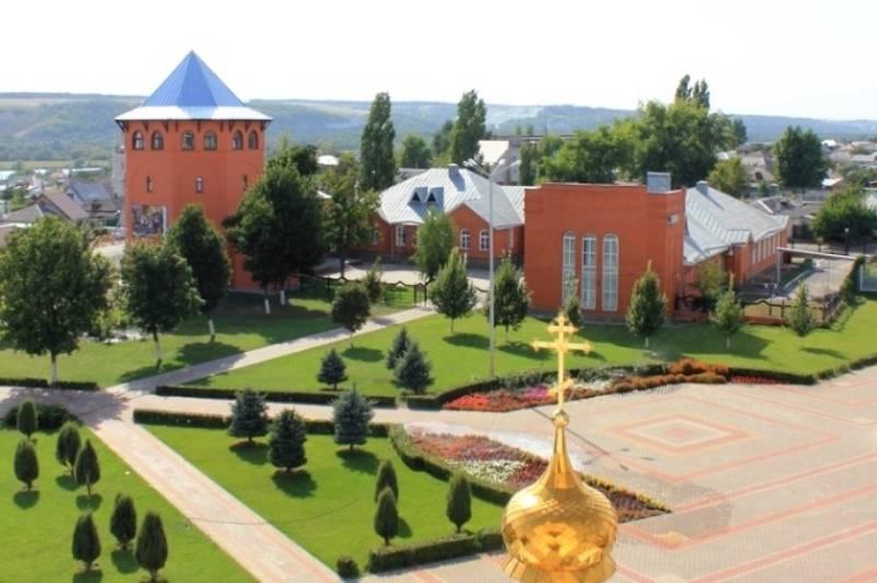 Вид на здание музея сверху